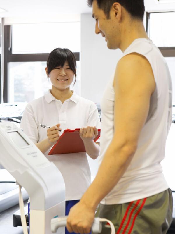 お客様に最適な運動プランや会員制度を「ご提案」